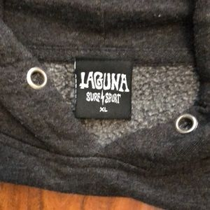 Laguna Surf & Sport Shirts - Laguna Surf & Sport Men's Charcoal Gray Hoodie